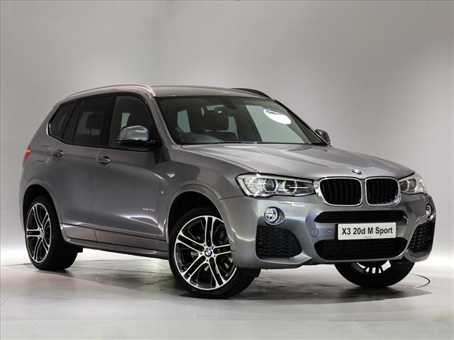 2017 Bmw X3 Diesel Estate Xdrive20d M Sport 5dr Step Auto Peter Vardy