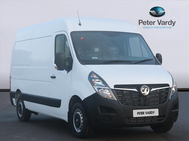 View the 2020 VAUXHALL MOVANO 3500 L2 DIESEL FWD: 2.3 Turbo D 135ps H2 Van Online at Peter Vardy