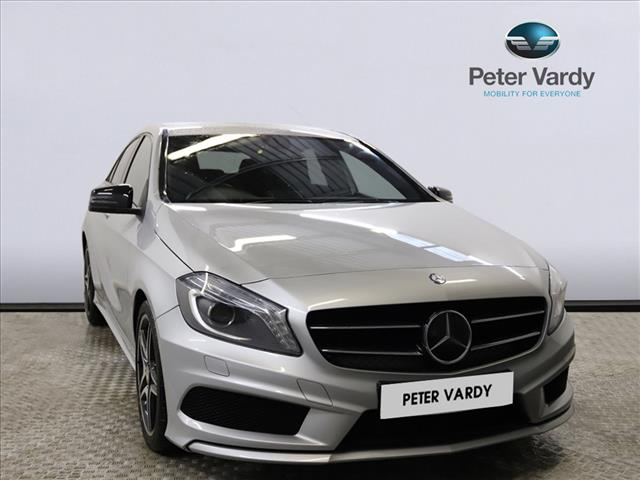 View the 2014 MERCEDES-BENZ A CLASS: A200 CDI BlueEFFICIENCY AMG Sport 5dr Online at Peter Vardy