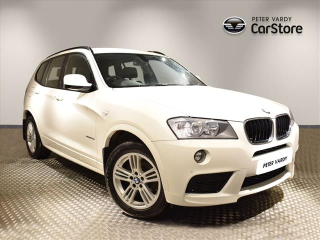 2012 Bmw X3 Diesel Estate Xdrive20d M Sport 5dr Step Auto Peter