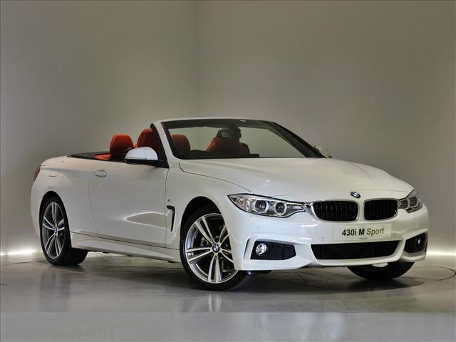 Bmw 4 Series Convertible White With Red Interior