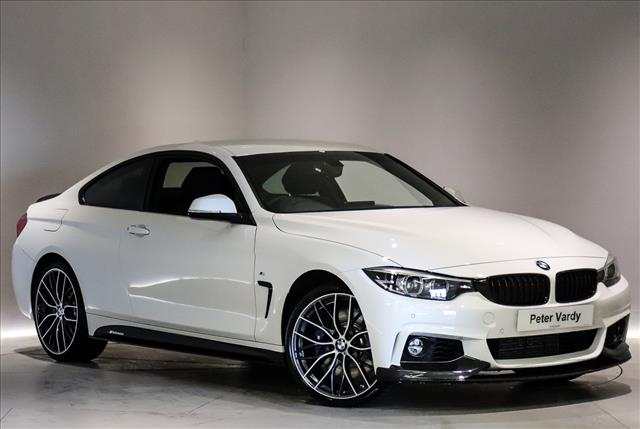 2019 BMW 4 SERIES DIESEL COUPE: 435d xDrive M Sport 2dr Auto | Peter