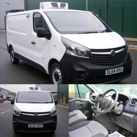 View the 2014 VAUXHALL VIVARO L2 DIESEL: 2900 1.6CDTI 115PS H1 Van Online at Peter Vardy