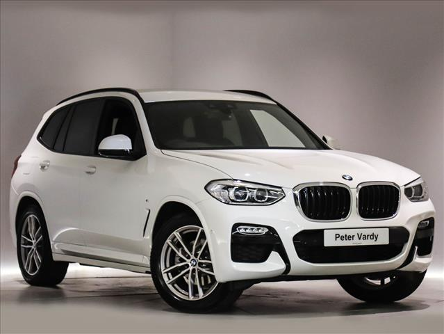 2018 Bmw X3 Diesel Estate Xdrive20d M Sport 5dr Step Auto Peter Vardy