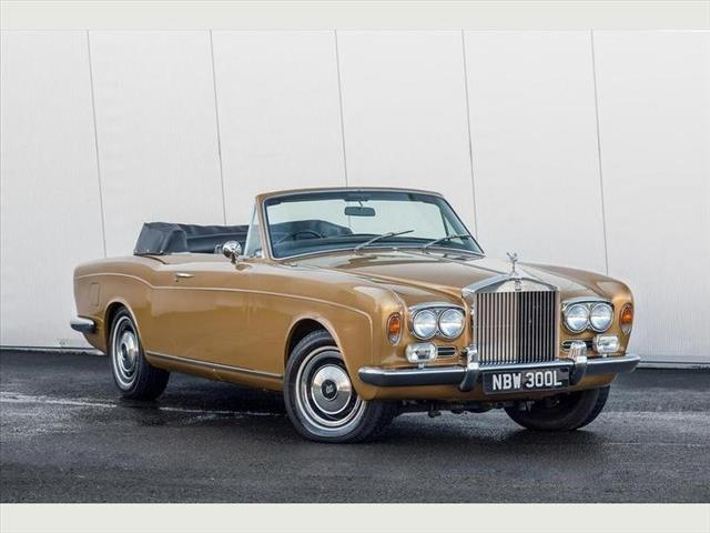 View the 1973 Rolls Royce Corniche Convertible Online at Peter Vardy