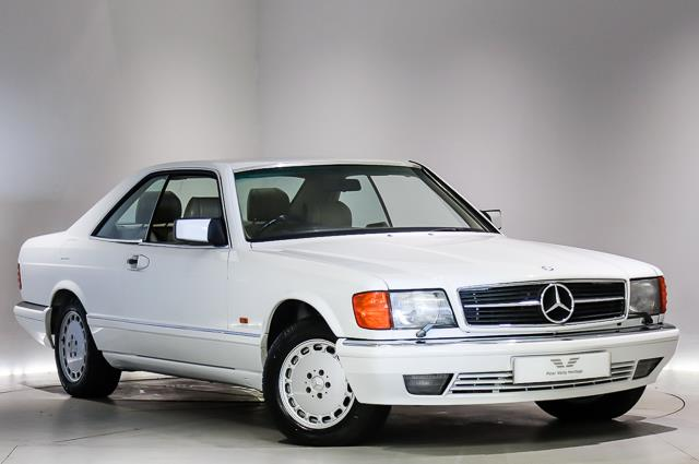 View the 1988 MERCEDES-BENZ 560 SEC: 560 SEC FH 2dr Auto Online at Peter Vardy