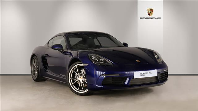 View the 2019 PORSCHE 718 CAYMAN COUPE: 2.0 2dr PDK Online at Peter Vardy