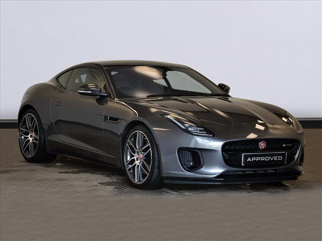 The F Type Coupe Online At Peter Vardy