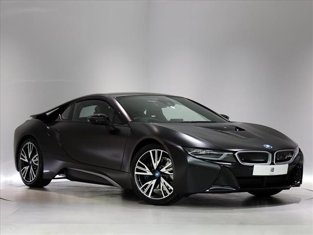 2018 Bmw I8 Coupe Special Edition Protonic Frozen Black Edition 2dr