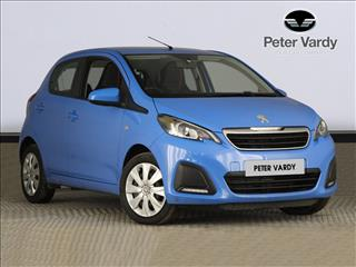 View the 2015 PEUGEOT 108 HATCHBACK: 1.0 Active 5dr Online at Peter Vardy