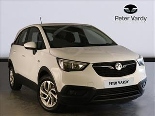 View the 2018 VAUXHALL CROSSLAND X HATCHBACK: 1.2 SE 5dr Online at Peter Vardy