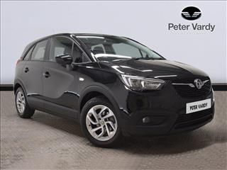 View the 2018 VAUXHALL CROSSLAND X HATCHBACK: 1.2 [83] SE 5dr Online at Peter Vardy
