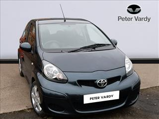 View the 2011 TOYOTA AYGO HATCHBACK: 1.0 VVT-i Ice 5dr MMT Online at Peter Vardy