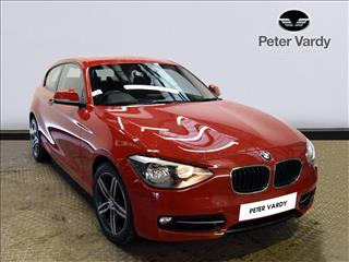View the 2013 BMW 1 SERIES HATCHBACK: 114i Sport 3dr Online at Peter Vardy