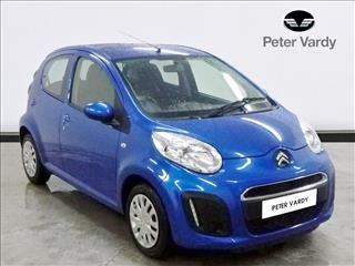View the 2013 CITROEN C1 HATCHBACK: 1.0i VTR 5dr Online at Peter Vardy
