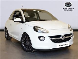 View the 2016 VAUXHALL ADAM HATCHBACK: 1.4i Glam 3dr Online at Peter Vardy