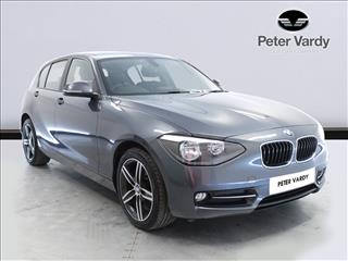 View the 2014 BMW 1 SERIES DIESEL HATCHBACK: 116d Sport 5dr Online at Peter Vardy