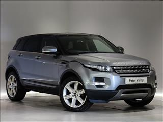 View the 2013 LAND ROVER RANGE ROVER EVOQUE DIESEL: 2.2 SD4 Pure 5dr Auto [Tech Pack] Online at Peter Vardy