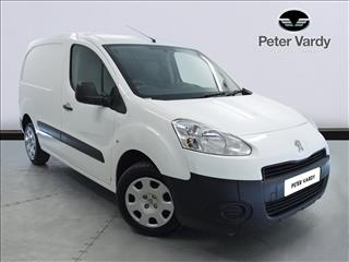 View the 2014 PEUGEOT PARTNER L1 DIESEL: 850 S 1.6 HDi 92 Van Online at Peter Vardy