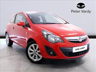 View the 2014 VAUXHALL CORSA HATCHBACK SPECIAL E: 1.2 Excite 3dr [AC] Online at Peter Vardy