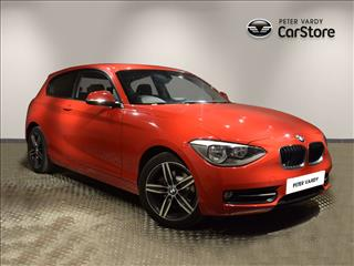 View the 2013 BMW 1 SERIES HATCHBACK: 118i Sport 3dr Online at Peter Vardy