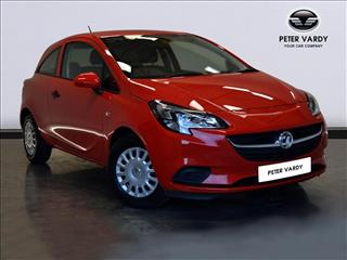 View the 2015 VAUXHALL CORSA HATCHBACK SPECIAL E: 1.2 Life 3dr Online at Peter Vardy