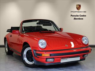 View the 1984 PORSCHE 911 CARRERA CABRIOLET: 2dr Online at Peter Vardy