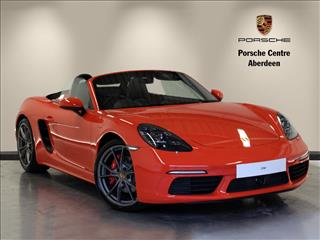 View the 2016 PORSCHE BOXSTER ROADSTER: 2.5 S 2dr PDK Online at Peter Vardy