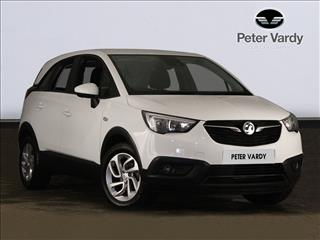 View the 2019 VAUXHALL CROSSLAND X HATCHBACK: 1.2 SE 5dr Online at Peter Vardy