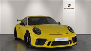 View the 2018 PORSCHE 911 [991] GT COUPE: GT3 2dr PDK Online at Peter Vardy