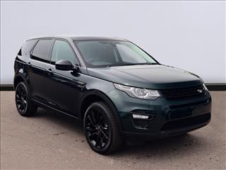 View the 2017 LAND ROVER DISCOVERY SPORT DIESEL SW: 2.0 TD4 180 HSE Black 5dr Auto Online at Peter Vardy