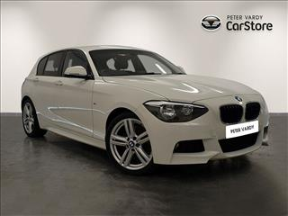 View the 2014 BMW 1 SERIES DIESEL HATCHBACK: 116d M Sport 5dr Online at Peter Vardy