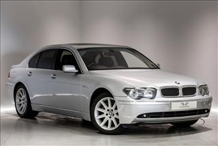 View the 2003 BMW 7 SERIES SALOON: 760i 4dr Auto Online at Peter Vardy