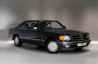 View the 1990 MERCEDES-BENZ 420: SEC 2 Door Auto Online at Peter Vardy