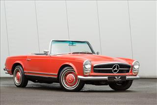 View the Mercedes-Benz 230SL: Pagoda Online at Peter Vardy