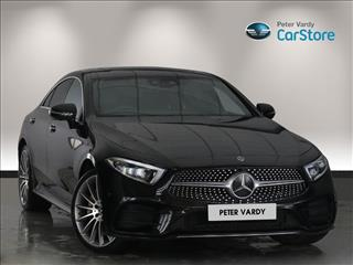 View the 2018 MERCEDES-BENZ CLS DIESEL COUPE: CLS 350d 4Matic AMG Line Premium + 4dr 9G-Tronic Online at Peter Vardy