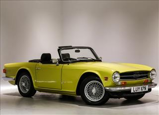 View the 1975 Triumph TR6  Convertible Overdrive Online at Peter Vardy