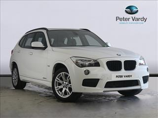 View the 2012 BMW X1 DIESEL ESTATE: sDrive 18d M Sport 5dr Online at Peter Vardy