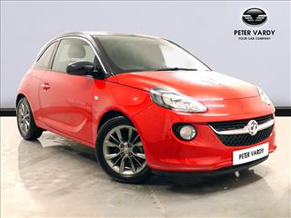 View the 2016 VAUXHALL ADAM HATCHBACK: 1.2i ecoFLEX Jam 3dr [Start Stop] Online at Peter Vardy