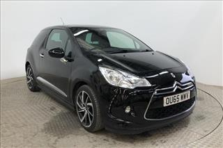 View the 2015 DS DS 3 HATCHBACK: 1.2 PureTech 110 DStyle Nav 3dr EAT6 Online at Peter Vardy