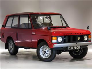 "View the 1974 Range Rover 3.5 V8 Suffix ""C"" Online at Peter Vardy"