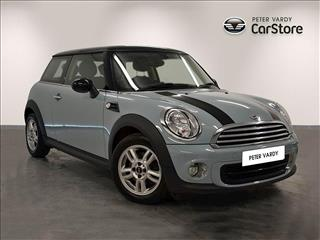View the 2012 MINI HATCHBACK DIESEL: 1.6 One D 3dr Online at Peter Vardy