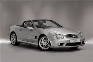 View the 2005 MERCEDES-BENZ SL 55 F1 AMG CONVERTIBLE: SL 55 AMG 2dr Auto Online at Peter Vardy