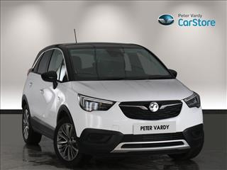 View the 2020 VAUXHALL CROSSLAND X HATCHBACK: 1.2 [83] Griffin 5dr [Start Stop] Online at Peter Vardy