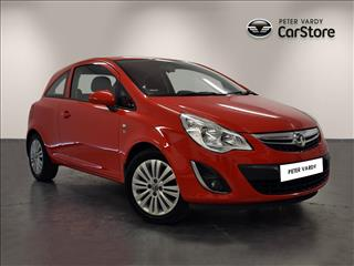 View the 2011 VAUXHALL CORSA HATCHBACK SPECIAL E: 1.2 Excite 3dr Online at Peter Vardy