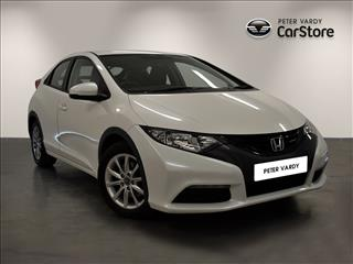 View the 2013 HONDA CIVIC DIESEL HATCHBACK: 1.6 i-DTEC SE 5dr Online at Peter Vardy