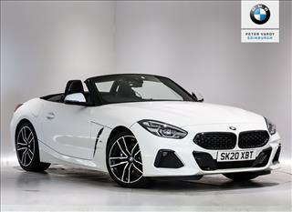 View the 2020 BMW Z4 ROADSTER: sDrive 20i M Sport 2dr Auto Online at Peter Vardy