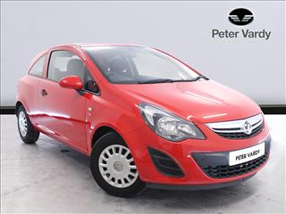 View the 2013 VAUXHALL CORSA HATCHBACK: 1.0 ecoFLEX S 3dr Online at Peter Vardy