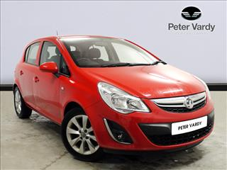 View the 2012 VAUXHALL CORSA HATCHBACK SPECIAL EDS: 1.0 ecoFLEX Active 5dr [AC] Online at Peter Vardy