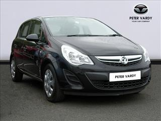 View the 2012 VAUXHALL CORSA HATCHBACK: 1.2 Exclusiv 5dr [AC] Online at Peter Vardy